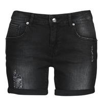 material Women Shorts / Bermudas Moony Mood ONANA Black