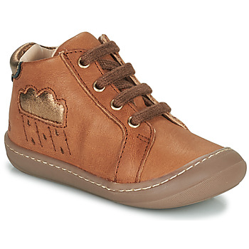 Shoes Girl High top trainers GBB APOLOGY Brown