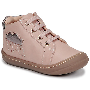 Shoes Girl High top trainers GBB APOLOGY Pink