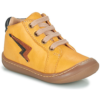 Shoes Boy High top trainers GBB APODAMI Yellow