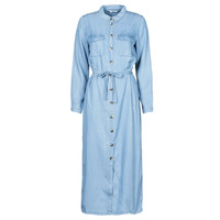 material Women Long Dresses Only ONLCASI Blue / Medium