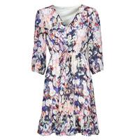 material Women Short Dresses Only ONLZOE White / Multicolour