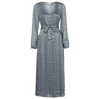 material Women Long Dresses Only ONLMADDI Marine