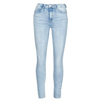 material Women slim jeans Only ONLPAOLA Blue / Clear