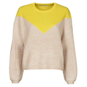 material Women jumpers Only ONLSOOKIE Beige / Yellow