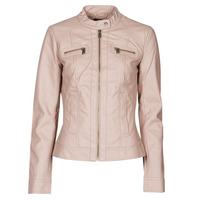 material Women Leather jackets / Imitation leather Only ONLBANDIT Pink
