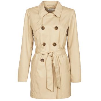 material Women Trench coats Only ONLVALERIE Beige