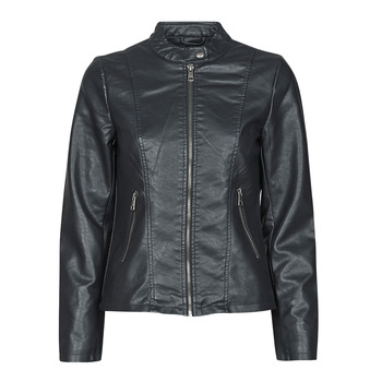 material Women Leather jackets / Imitation leather Only ONLMELISA Black