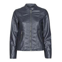 material Women Leather jackets / Imitation leather Only ONLMELISA Marine