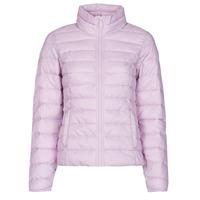 material Women Duffel coats Only ONLNEWTAHOE Mauve