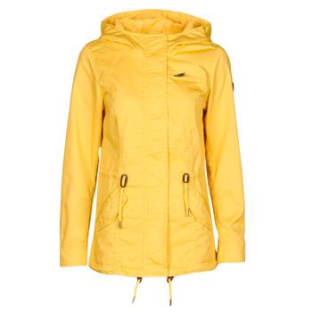 material Women Parkas Only ONLLORCA Yellow