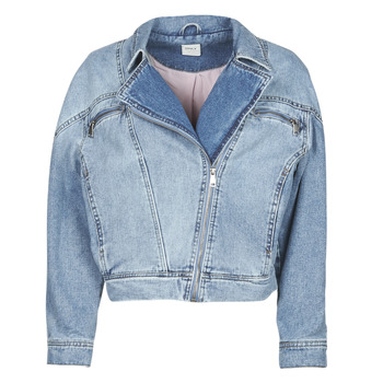 material Women Denim jackets Only ONLJACK Blue / Medium
