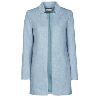 material Women coats Only ONLSOHO Blue