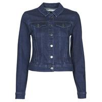 material Women Denim jackets JDY JDYNEWWINNER STR JACKET BOX DNM NOOS Blue / Medium