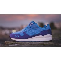 Shoes Low top trainers Asics Gel Lyte 3 Solstice Mid Blue/Mid Blue