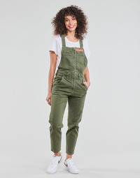 material Women Jumpsuits / Dungarees G-Star Raw SLIM DUNGAREE WMN Kaki