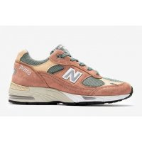 Shoes Low top trainers New Balance 991 x Patta Dusty Pink/Light Petrol