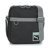 Bags Men Pouches / Clutches Puma ORIGINAL PORTABL RETRO.BLK Black / Grey