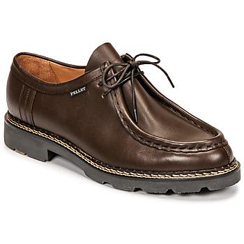 Shoes Men Loafers Pellet Macho Brown