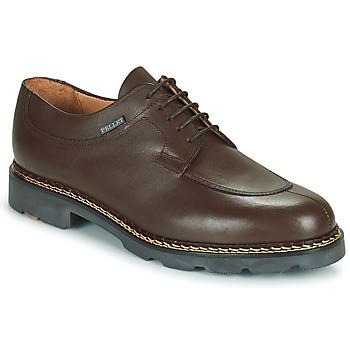 Shoes Men Derby shoes & Brogue shoes Pellet Montario Brown