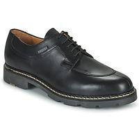 Shoes Men Derby shoes & Brogue shoes Christian Pellet Montario Black