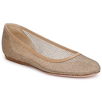 Shoes Women Ballerinas Sebastian GLIME Beige