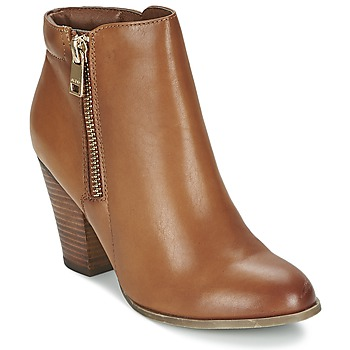 Shoes Women Ankle boots Aldo JANELLA Cognac