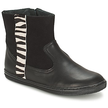 Shoes Girl Mid boots Citrouille et Compagnie ELLIA Black