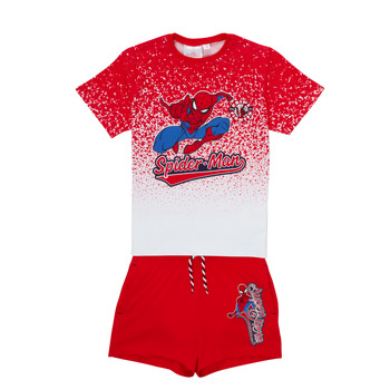 material Boy Sets & Outfits TEAM HEROES  SPIDERMAN SET Multicolour