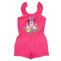 material Girl Jumpsuits / Dungarees TEAM HEROES  MINNIE JUMPSUIT Pink