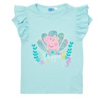 material Girl short-sleeved t-shirts TEAM HEROES  PEPPA PIG TEE Blue