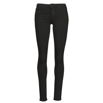 material Women slim jeans Only ONLCARMEN Black