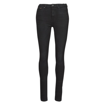 material Women slim jeans Only ONLPAOLA Black