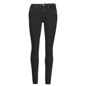 material Women slim jeans Only ONLPOWER Black