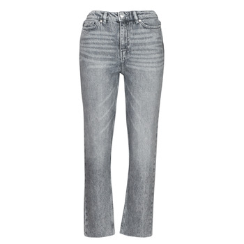 material Women slim jeans Only ONLEMILY Grey