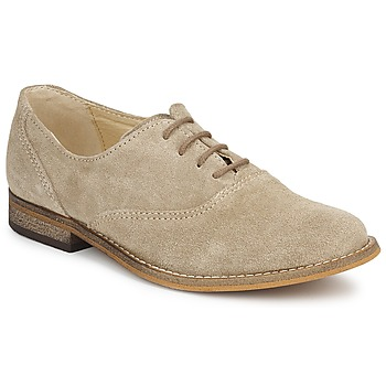 Shoes Girl Brogue shoes Citrouille et Compagnie MOUTUNE Beige