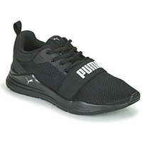 Shoes Boy Low top trainers Puma WIRED JR Black