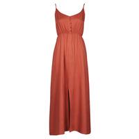 material Women Long Dresses Betty London ONNANA Terracotta