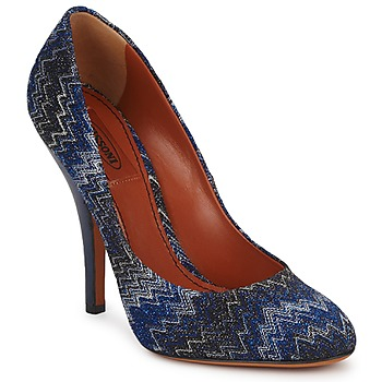 Shoes Women Court shoes Missoni VM005 Blue