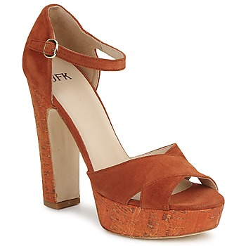 Shoes Women Sandals JFK  Orange