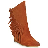 Shoes Women Ankle boots Strategia FRANGIO Brown