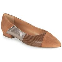 Shoes Women Ballerinas JB Martin TENDRE Brown