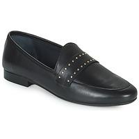 Shoes Women Loafers JB Martin FRANCHE ROCK Black