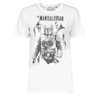 material Women short-sleeved t-shirts Yurban OUFOMM White