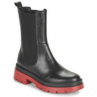 Shoes Women Mid boots JB Martin MOTIVEE Black