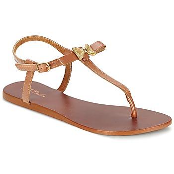 Sandals Betty London BASTINE CAMEL 350x350