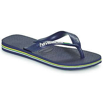 Shoes Children Flip flops Havaianas BRASIL LOGO Marine