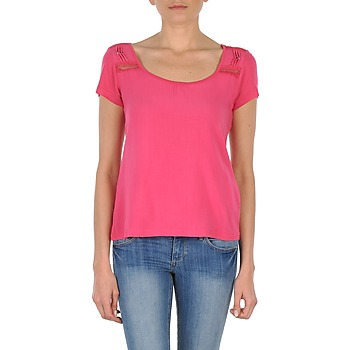 material Women short-sleeved t-shirts DDP NOWI Pink