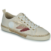 Shoes Women High top trainers Pataugas AUTHENTIQUE/T J2E Beige / Gold / Pink