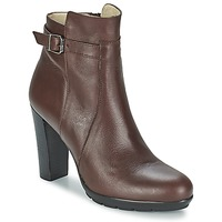 Shoes Women Ankle boots Betty London ARIZONA Brown
